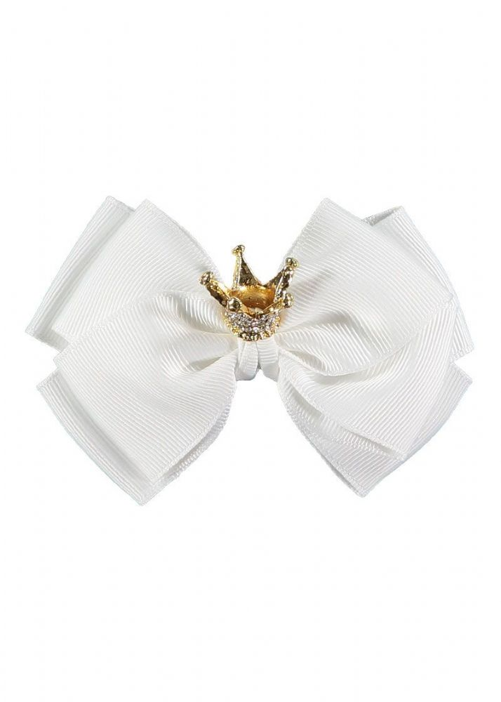 Angels Face Snowdrop Big Bow With Crown